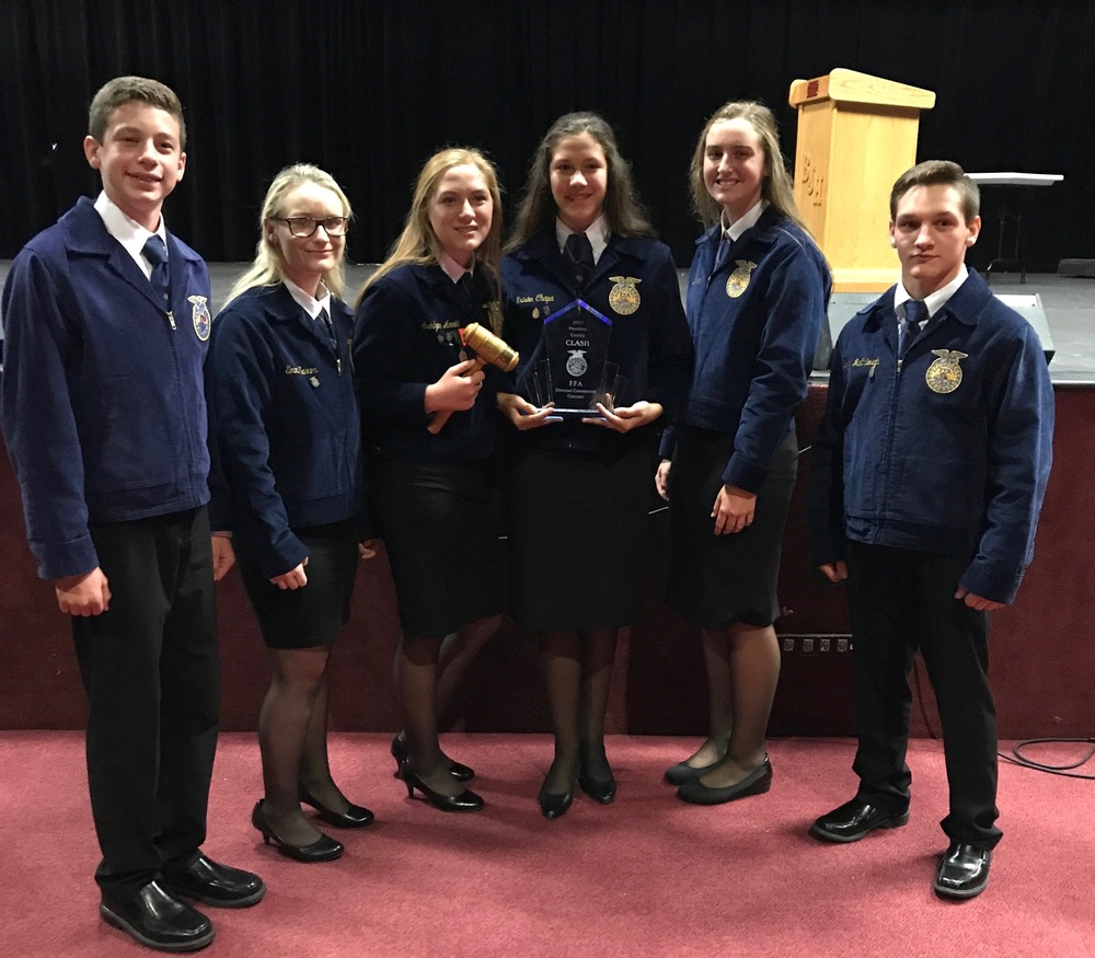 Madill FFA Opening Ceremonies Group Grabs Gold Tuesday in Byng Contest; Another Madill Team Finished Fourth Overall