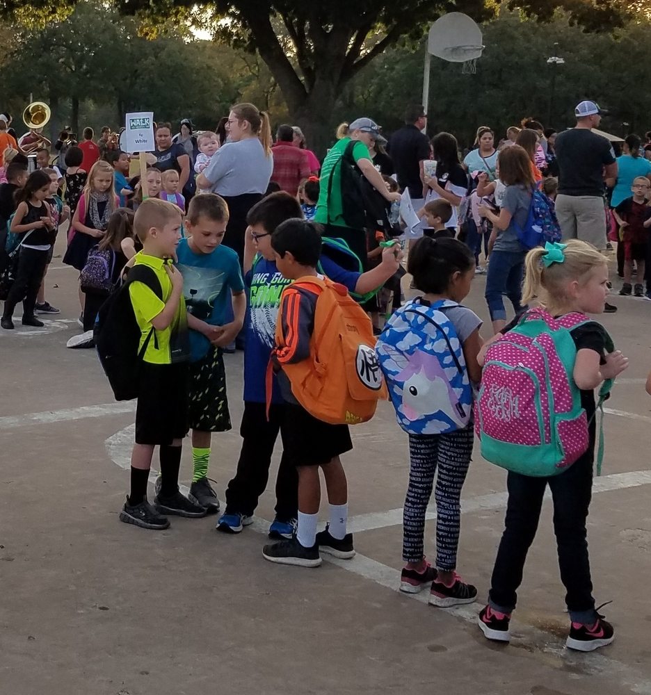 Madill Participates in 'Walk to School' Event Oct. 5
