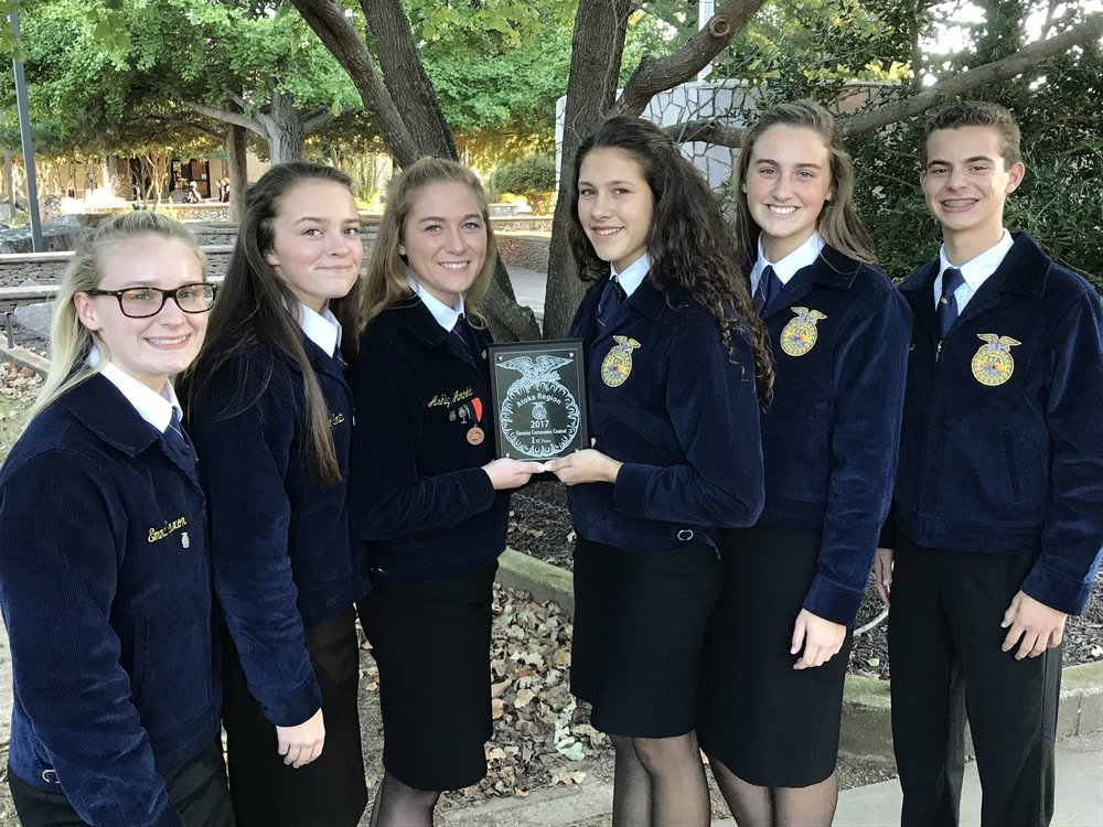 Madill FFA Opening, Closing Ceremony Team Bound for State after Winning Atoka Region Tuesday Night