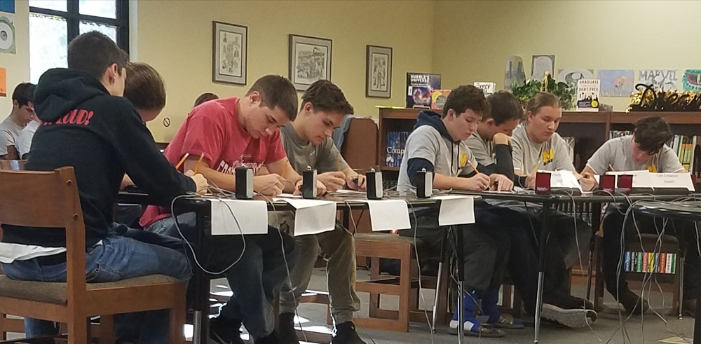 Madill Academic Team Edged out by Tishomingo in Second Half