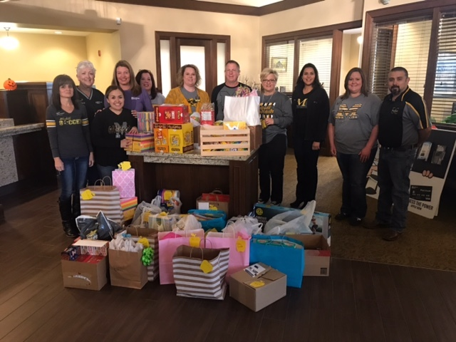 Thank you to Landmark Bank for organizing the supply drive for our teachers and students.  We appreciate the support of our community members.