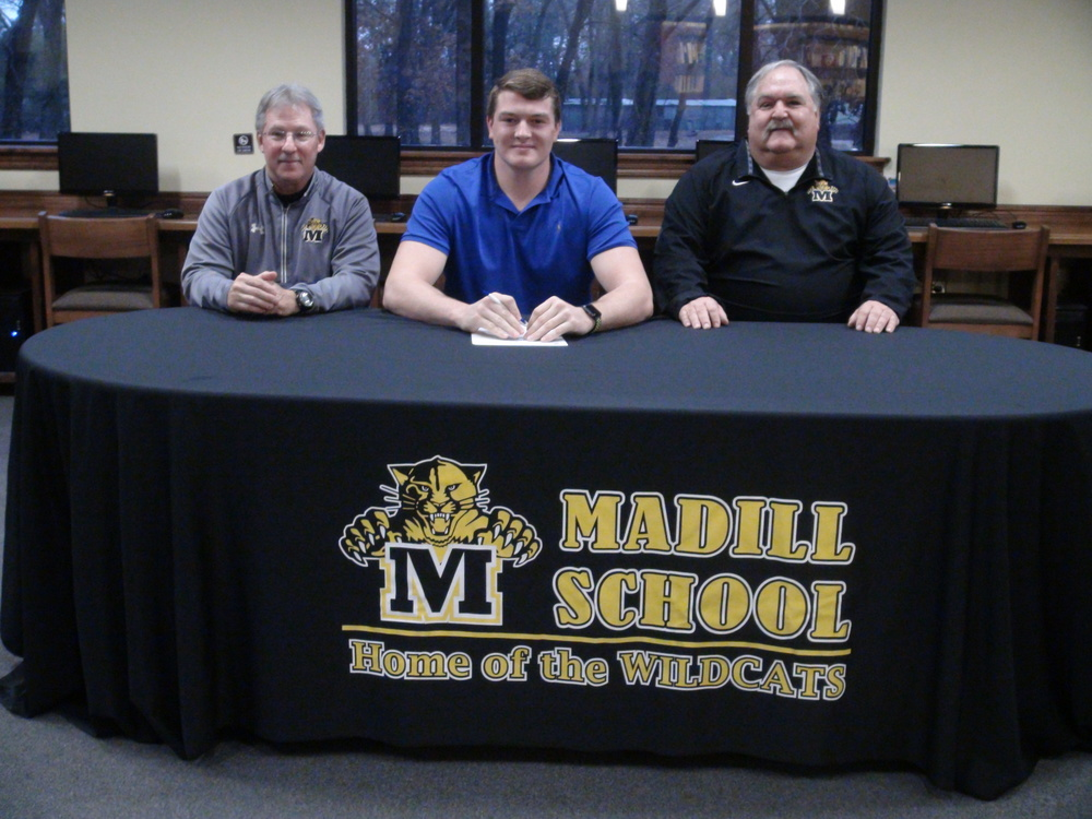 Madill Alum Judge Hartin Signs to Play Football for Tulsa; Watch Video Coverage of Signing on Demand