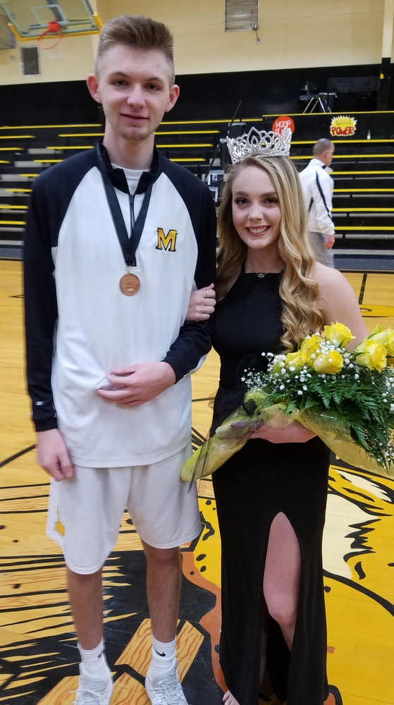 Madill Basketball Boys Clinch OT Win, Girls Fall to Lone Grove; Jowers, Hughes Named Royalty; Watch on Demand